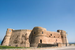 Aragonese castle of Ortona. In Abruzzo (Italy Royalty Free Stock Photography