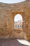Aragonese castle of Ortona. In Abruzzo (Italy Royalty Free Stock Images
