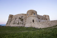 Aragonese Castle in Ortona, Italy. Aragonese Castle  in the Trabocchi coast in Abruzzo, Italy Royalty Free Stock Image