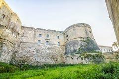 Aragonese castle in Otranto, Apulia, Italy. Medieval, Aragonese castle in Otranto, Apulia, Italy Royalty Free Stock Photos