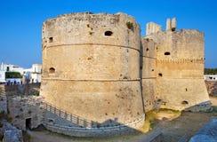 Aragonese Castle. In Otranto, Italy Stock Photo