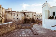 The Aragonese Castle of Otranto. Royalty Free Stock Images