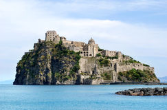 Aragonese Castle Royalty Free Stock Photos