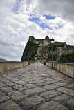 The Aragonese castle Royalty Free Stock Image