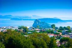 Aragonese kasztel w Ischia, Włochy Fotografia Stock