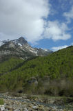 Aragonese Pyrenees. Mountains of Aragonese Pyrenees in north of Spain Royalty Free Stock Photography