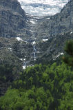 Aragonese Pyrenees. Mountains of Aragonese Pyrenees in north of Spain Royalty Free Stock Image