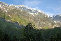 Aragonese Pyrenees Royalty Free Stock Photography