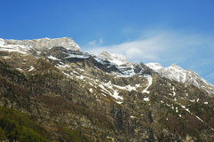 Aragonese Pyrenees. Mountains of Aragonese Pyrenees in north of Spain Royalty Free Stock Photo