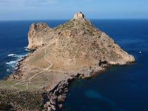 Aragonese roszuje, Marettimo, Sicily, Włochy zdjęcie royalty free