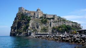 aragonese slott Royaltyfria Bilder