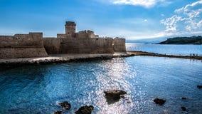 aragonese slott Royaltyfri Foto
