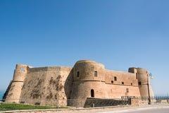 Aragonese slott av Ortona Royaltyfri Fotografi