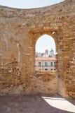 Aragonese slott av Ortona Royaltyfria Bilder