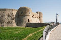 Aragonese slott av Ortona Fotografering för Bildbyråer