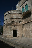 Aragonese tower. The old aragonese tower of ruvo di puglia in italy Stock Photos
