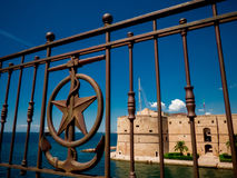 The aragonian castel in the city of taranto, in the south of ita Stock Photo