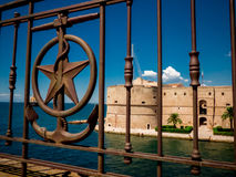 The aragonian castel in the city of taranto, in the south of ita Stock Photography