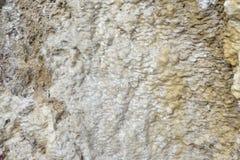 Aragonit ściana w naturze, surowy materiał Obrazy Royalty Free