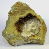 Aragonite矿物标本 库存图片
