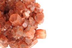 Aragonite изолировало Стоковое Изображение