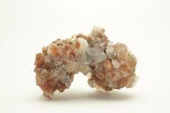 Aragonite群 库存照片