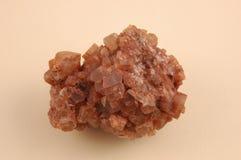 Aragonite-grezzo. Immagine Stock