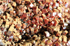 Aragonite mineral texture. As nice natural background Royalty Free Stock Photography