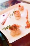 Aragoste servite Immagini Stock
