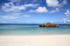 Araha beach in Okinawa Royalty Free Stock Photo