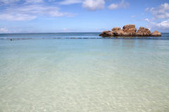 Araha beach in Okinawa Royalty Free Stock Photos