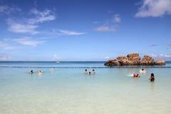 Araha beach in Okinawa Royalty Free Stock Images