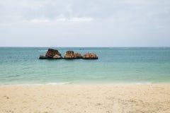 Araha-Strand in Okinawa, Japan lizenzfreies stockbild