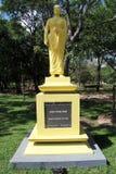 Arahath Sangamittha Theri. Statue of Arahath Sangamittha Theri from 3 century in Mihintale, Sri Lanka Royalty Free Stock Photos
