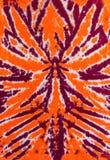 Araignée bleue orange de lien de colorant de conception abstraite colorée de modèle Photographie stock