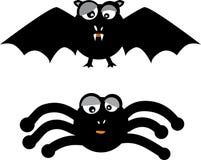 Araignée de 'bat' (vecteur) Image libre de droits
