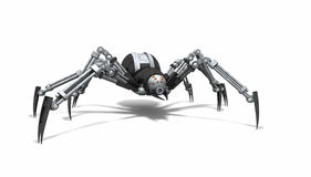 Araignée de robot Images libres de droits