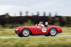 Araignée Pinin Farina (1954) de Ferrari 500 Mondial Photo stock