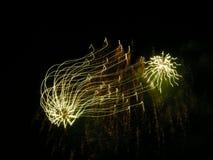Araignées étonnantes de musical de ciel Image libre de droits