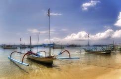 Araignées de bateaux Photographie stock libre de droits