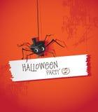 Araignées de Halloween Image libre de droits