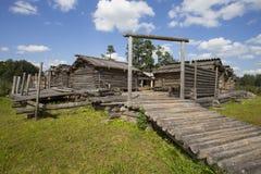 Araisi lake dwelling site Royalty Free Stock Images