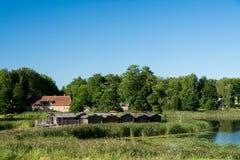 Araisi See-Schloss stockbilder