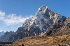 Arakam mountain peak, Everest region Stock Image