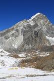 Arakamtse peak basecamp from everest trek Stock Image