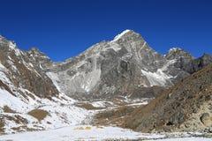 Arakamtse peak basecamp from everest trek Stock Photo