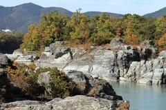 Arakawa river in Nagatoro royalty free stock images