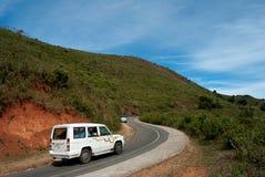 Araku谷风景视图 免版税库存照片