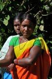 Araku谷, Vishakhapattnam,印度Tribals  图库摄影