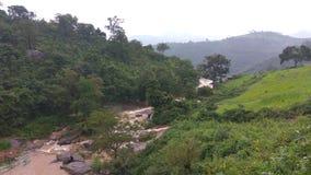 Araku - Waterfall. Waterfall view from the top Royalty Free Stock Photo